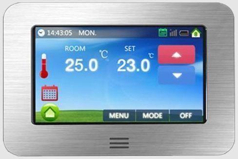 Vloerverwarming regelen met kamerthermostaat