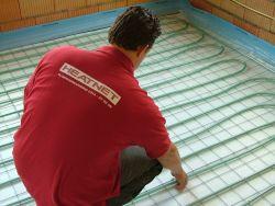 Vloerverwarming Badkamer Retourleiding : Heatnet vloerverwarming